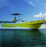 26隻の'釣のためのガラス繊維FRPのパンガ刀の中央コンソールのボート