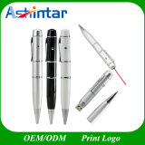Laser Point Pen USB Memory Stick Metal USB Flash Drive