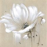 Jolie fleur Huile sur toile peinte à la main pour la décoration d'accueil