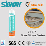 Подгонянный цветом естественный каменный слипчивый Sealant силикона