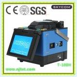 特許を取られた光ファイバ接続機械(Skycom T-108H)