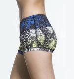 Lo Spandex di Lycra del poliestere 9208 mette in mostra gli Shorts di compressione delle donne