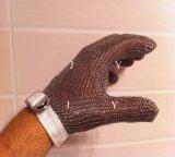 Guanto dell'acciaio inossidabile del macellaio della rete metallica