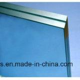 Подкрашиванное голубое прокатанное стекло для украшения мебели здания