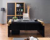 새로운 현대 가죽 PVC 사무실 행정상 책상 (V29)