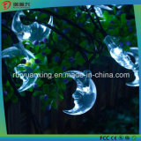 Moon Solar String Lights for Outdoor, Wedding, Christmas Party (White)
