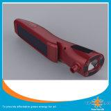 高品質太陽LEDの懐中電燈