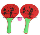 Beach Paddle Rackets (2 Pieces Paddle + 1Piece Ball)