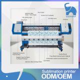 1,8 м высококачественный термосублимационный принтер широкоформатных печатающих головок с двойной Dx5