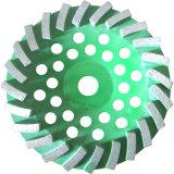 Rotella asciutta di lucidatura della tazza di riga del diamante del disco di molatura dell'abrasivo doppia