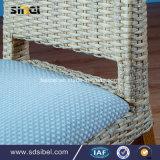 Cadeira de jantar material de Rattant para a HOME e o hotel