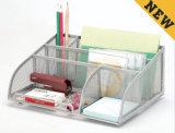 책상 공급 조직자 금속 메시 문구용품 조직자 사무실 책상 부속품