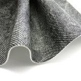 Het imitatie doek-Korrel Leer van pvc voor Meubilair (HTS019)