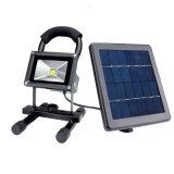 5W 휴대용 재충전용 태양 LED 옥외 투광램프