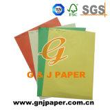 Excelente calidad de papel de cartón de colores para el corte artesanal