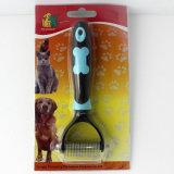 Пэт Dematting гребень и щетка для ухода за телом собак и кошек с Пэт безопасные лезвия из нержавеющей стали