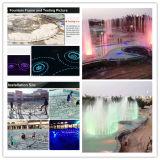 Fontana corrente esterna della molla della fontana di musica dell'Egitto