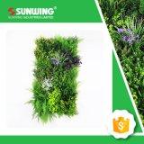 صنع وفقا لطلب الزّبون خارجيّة اصطناعيّة سرخس عشب حصيرة لأنّ شاقوليّ حديقة جدار