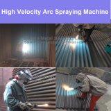 交通機関機能の熱ワイヤー噴霧の引き/押しのトーチ銃が付いている商業建物アーク噴霧機械のための反腐食性のコーティング装置