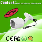 Наборы самой дешевой 4 камер PLC NVR & IP H. 264 канала