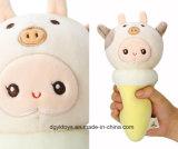 Brinquedo de sorvete de peluagem com personagem de desenho animado