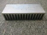 La protuberancia del aluminio de 6063 aleaciones/de aluminio/sacó disipador de calor con trabajar a máquina