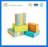 관례에 의하여 인쇄되는 주름을 잡은 제작된 화물 박스 (최신 판매 손가락으로 튀김 물결 모양 상자)