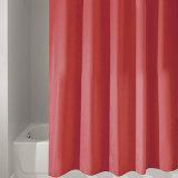 Tenda di acquazzone impermeabile della stanza da bagno del tessuto del tessuto di seta naturale del poliestere (02S0002)