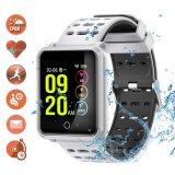 Smart montres étanches IP68 Tracker de remise en forme de sport avec moniteur de fréquence cardiaque de la pression artérielle pour Fête des Pères Hommes Femmes Enfants cadeaux Podomètre Wearable Smartwatch