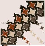 Zoll gedruckte Silk Schals des Quadrat-100% für Dame