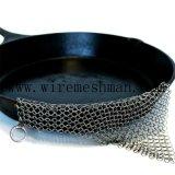 Chaîne en acier inoxydable de qualité alimentaire Mail Pot Scrubber