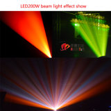 Nj-L200W double prisme 200W tête mobile faisceau lumineux à LED