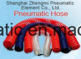 De Slang van de Rol van de kleur Pu met Montage (PNEUMATISCH HULPMIDDEL: 5*8mm)