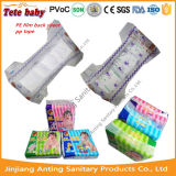 Самая лучшая ткань пеленки младенца качества как Backsheet и волшебная лента