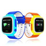 Q90 접촉 스크린 WiFi 아기 시계 위치 측정기 장치 GPS 추적자 지능적인 시계