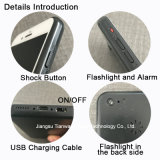 Самообороны Taser iPhone электрический подвески к поворотному 6s с фонариком и изумите пушки