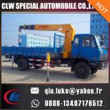 De Vrachtwagen van de Kraan van DFAC 4X2 Mountd met 8 Ton draagt de Kraan van het Dek