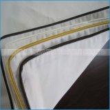 De Textiel die van het Hotel van de Leverancier van China Reeks met het Geval van het Hoofdkussen van de Dekking van het Dekbed van het Blad van het Bed vastzetten