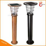 Luz del césped del acero inoxidable solar para el jardín y al aire libre
