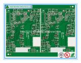 Placa de circuito impresso verde do PWB Quick_Turn do protótipo 2layer