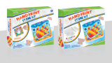 Набор гипсолита Игрушки-Handprint искусствоа малышей покрашенный DIY