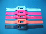 Выдвиженческим модным напечатанные логосом съемные планки силиконовой резины для вахты