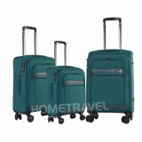 Nuevo equipaje del poliester del diseño 2017 fijado con servicio del OEM