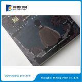Stampa poco costosa del catalogo del libro dell'aletta di filatoio dell'opuscolo dell'opuscolo del libretto