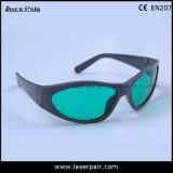 635nm, 808nm Lasersicherheits-Gläser u. Laser-Schutz-Schutzbrillen für Rot und Dioden-Laser (FTE 630-660nm u. 800-830nm) mit grauem Spant 55