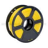 Filament populaire d'impression de PLA 3D de jaune