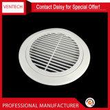 Sistemas HVAC lineales de alimentación de la ronda de la ventilación rejillas de aluminio