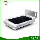 Energía Solar impermeable inalámbrica Sensor de movimiento de 24 LED Lámpara de pared de luz solar al aire libre