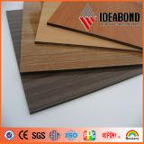 Comitato composito di alluminio di sembrare del legno di Ideabond (AE-301)