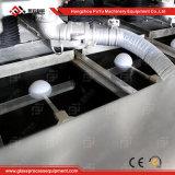 Lavadora de vidro horizontal com controle de PLC